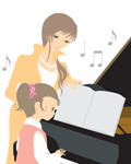 堀川ピアノ教室の特徴